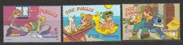 Österreich 2002 The Philis Comic Komplett ** Postfrisch - 2001-10 Unused Stamps