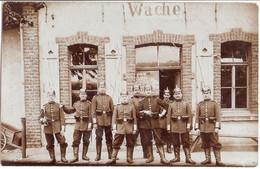 ELSENBORN Truppen Übungsplatz Malmedy Wache Soldaten Original Private Fotokarte 19.8.1909 Gelaufen - Weltkrieg 1914-18