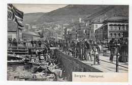 BERGEN - FISKETORVET: Norway Postcard (S1156) - Norway