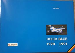 LUCTMACHT MIRAGE BIERSET Delta Blue. Het 8ste Smaldeel Van 1970 Tot 1991. - Aviación