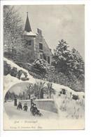 28432 - Biel Winteridyll Bienne Lugeurs 1905 - BE Berne