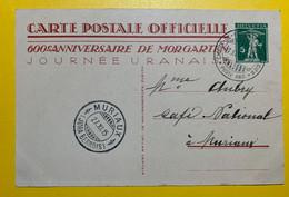 15136 - Carte 600e Anniversaire De Morgarten Cachet Ambulant La Chaux De Fonds - Saignelégier 27.11.1915 - Enteros Postales