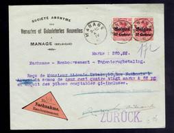OC3 ( Paire ) / Lsc Nachname Remboursement Manage 4 IV 16 => Anvers Griffe Zurück Retour - [OC1/25] General Gov.