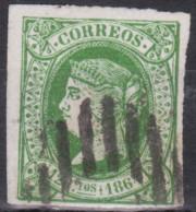 1864 Edifil 65  Usado - Usati