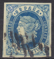 1862 Edifil 57  Usado - Usati