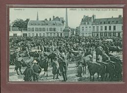 ARRAS (62) - LA PLACE VICTOR HUGO UN JOUR DE MARCHE - Arras