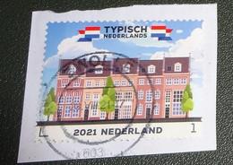 Nederland - NVPH - Xxxx - 2021 - Gebruikt - Onafgeweekt - Cancelled On Paper - Typisch Nederland - Rijtjeshuizen - Used Stamps