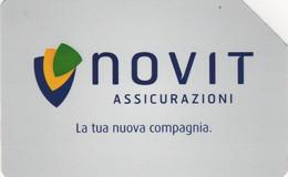 *ITALIA: NOVIT ASSICURAZIONI* - Scheda Usata - Openbaar Getekend