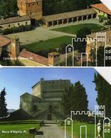 *ITALIA: 21^ PANTHEON - IN GIRO PER CASTELLI* - Serie Completa Usata - Openbaar Getekend