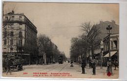 75-TOUT-PARIS- XIII ARR- AVENUE DE CHOISY- PRISE  A LA RUE DE TOLBIAC- TANIMEE - Distrito: 13