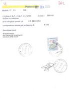 £10000 ALTI VALORI SU MOD.77 ANNULLO CATANIA SUCC.20 - 2001-10: Marcophilie