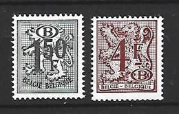 Timbre Belgique  Service En  Neuf ** N 72 Et N 76 - Servizio