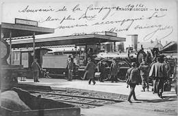 AMAGNE-LUCQUY -- La GARE -  TRAIN Et ANIMATION - Other Municipalities