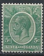 Kenya & Ouganda YT 2A Neuf Avec Charnière X / MH - Kenya & Uganda