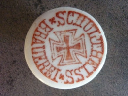 Bouchon En Porcelaine Bouteille De Biere Schultheiss Brauerei Ww1 - 1914-18