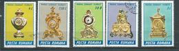 Roumanie Année 1990 - Pots Divers     5  Timbres Oblitérés -  Po 65701 - Usati