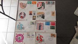 V1003 Ensemble De 92 Enveloppes 1er Jour FDC De Monaco Dont Bonnes Petites Valeurs  . A Saisir !!! - Laos