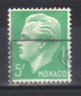Monaco Timbre  N°349  Oblitéré Prince Rainier III - Used Stamps