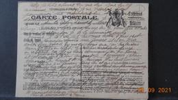 Carte En F.M De 1914 - Cartes De Franchise Militaire