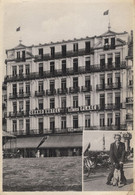 Grand Hotel De La Mer Plage Heyst On Sea Belgium Antique Postcard - Werbepostkarten