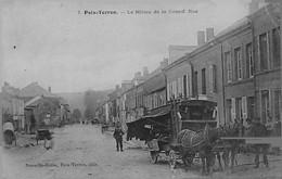 POIX-TERRON ---Le MILIEU De La Grand' Rue - ATTELAGE En 1er PLAN - Other Municipalities