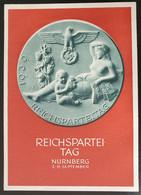 Deutsches Reich 1939, Postkarte NÜRNBERG Reichsparteitag HERMSDORF Selten! - Covers & Documents