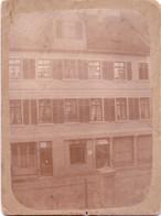 Seltenes ALTES Originalfoto (auf Pappe)   MINDEN / NRW   - Haus / Geschäft Von August Kruse - Ca. 1910 Aufgenommen - Minden