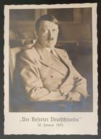 """Deutsches Reich 1938, Postkarte """"Der Befreier Deutschland"""" MÜNCHEN Sonderstempel - Covers & Documents"""