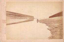 Jetées De TROUVILLE-sur-MER - Tirage Photo Sur Carton Fort, Fin XIXe Siècle, Numa Blanc Fils - Trouville
