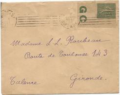 FRANCE N° 130 BDF GC LETTRE BORDEAUX 1917 - 1877-1920: Semi-moderne Periode