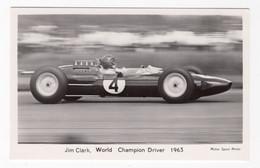 SPORT AUTOMOBILE -  Jim CLARK - Unclassified