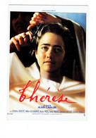 Cpm - Publicité - THERESE UN Film D' Alain CAVALIER - Cinéma - 1986 - Femme COIFFEUR Coupe Cheveux Ciseaux - Artisti