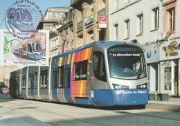 CARTE MAXIMUM - 2011 - N°4530 : Tram-train De Mulhouse - 2010-...