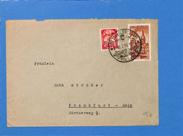 Saar 1950 Lettre De Ottweiler (G3068) - Lettres & Documents