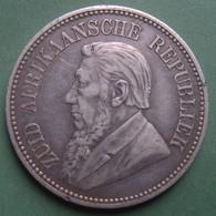 AFRIQUE DU SUD 2 1/2 Shilling 1894 Argent 135 000 Ex. - Other - Africa