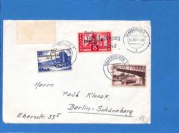 Saar 1955 Lettre De Saarbrücken (G3086) - Lettres & Documents