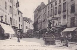Clermont Ferrand Place Et Rue Saint Genés - Clermont Ferrand