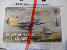 Télécarte Avion De Chasse 1.12 Cambrai - Base 103 - Armée- Tigres- Avion -59 - Esercito