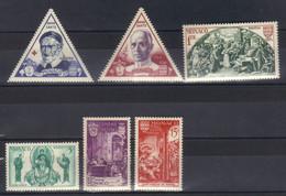 Monaco Timbres  N°353 N°354 N°355 N°357 N°358 N°359  Neuf ** - Unused Stamps