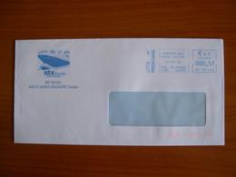 EMA Sur Enveloppe  HP 137438 MONTOIR  Avec Illustration   STX - EMA (Printer Machine)