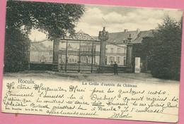 C.P. Roeulx  =  La  Grille  D'  Entrée  Du  Château - Le Roeulx