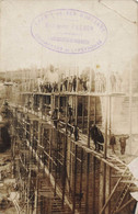 Chemin De Fer D'Orleans  Construction Voie Ferrée  Commentry  Lapeyrouse  Gare Train Carte Photo - Sonstige