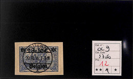 NB - [816122]TB//O/Used-c:38e-Belgique-Allemagne  - OC 9 - [OC1/25] Gov. Gen..