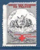 1 Vignette, Croix Rouge, Unions Des Femmes De France. - Croix Rouge