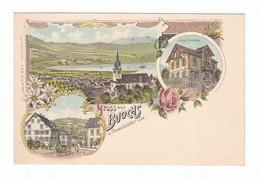 Gruss Aus Buochs. A Vierwaldstatter See. Suisse.1899 - NW Nidwalden