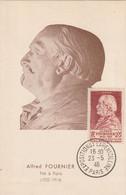 CARTE MAXIMUM - 1946 - N°748 : A.Fournier - 1940-49