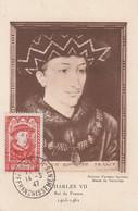 CARTE MAXIMUM - 1947 - N°770 : Charles VII - 1940-49