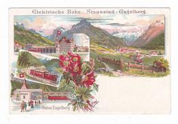 Elektrische Bahn : Stansstad.Engelberg.Suisse. - OW Obwalden