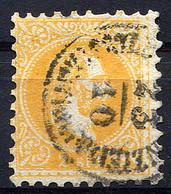 AUSTRIA LEVANT 1867 Perf.9 - Yv.1B (Mi.1 Ia, Sc.1) Used (VF) - Levante-Marken