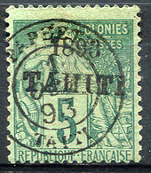 TAHITI 1893 - Yv.22 (Mi.21, Sc.20) Used (VF) - Used Stamps